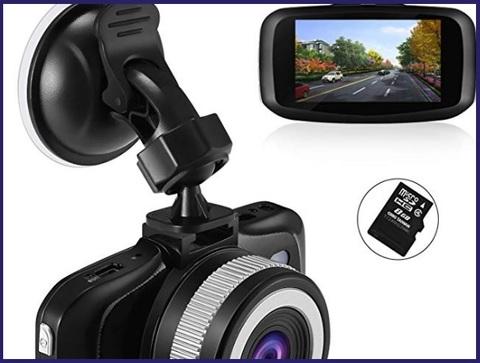 Sensori Auto Anteriori Dash Cam