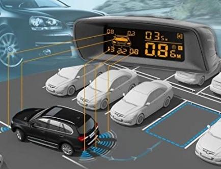 Sensori Auto Anteriori Parcheggio
