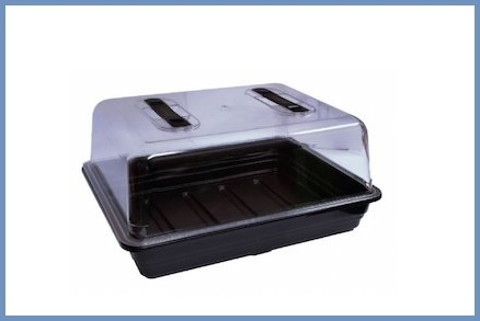 Mini serra germinazione ventilata