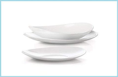 Servizio piatti bianchi