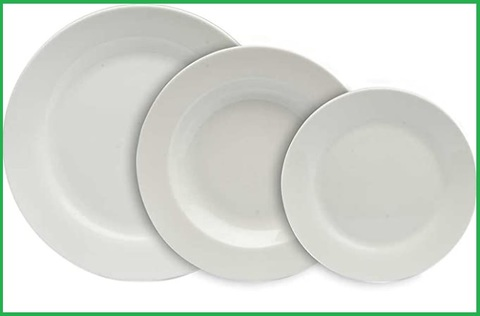 Servizio piatti bianchi tognana
