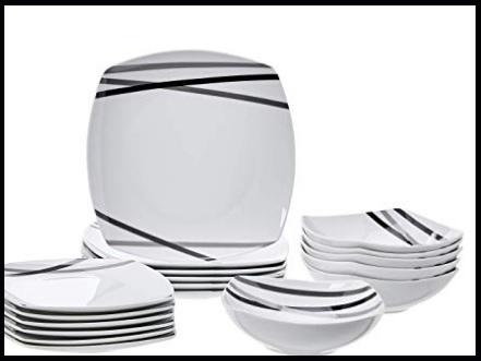 Servizio piatti moderni