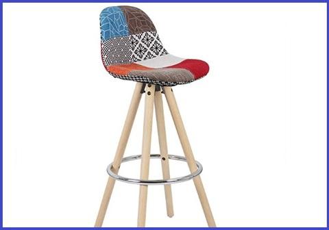 Sgabello design colorato