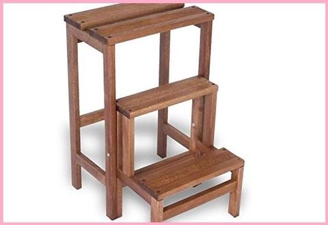 Sgabello richiudibile legno