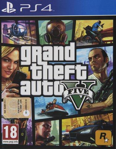 Playstation 4 grand theft auto v