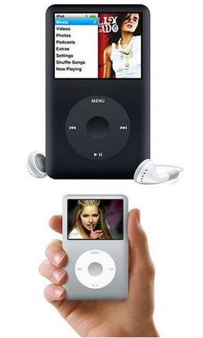 Apple ipod classic 160 gb nuova versione + display a colori black