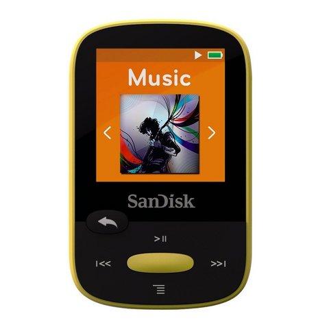 Sandisk lettore mp3 8gb nero con display