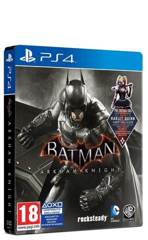 Gioco per playstation 4 batman: arkham knight