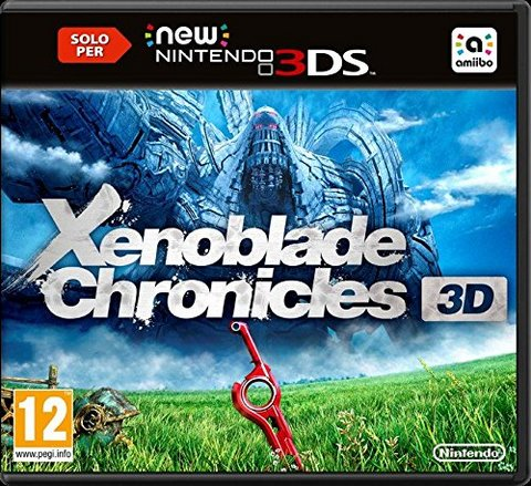 Gioco per 3ds xenoblade chronicles 3d - limited edition