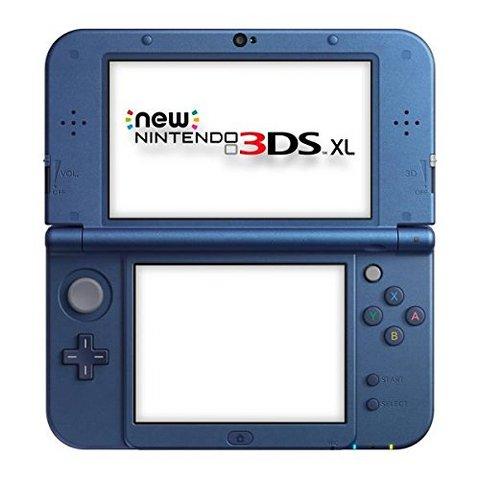 New nintendo 3ds xl console blu