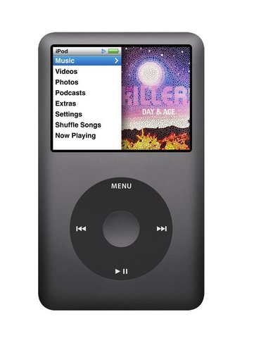 Lettore musical apple ipod classic 160gb