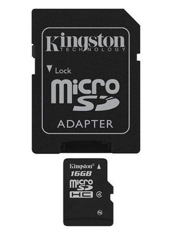 Memoria kingston sd da 16 gb