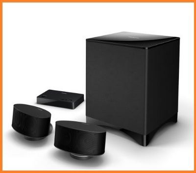 Sistema audio home cinema