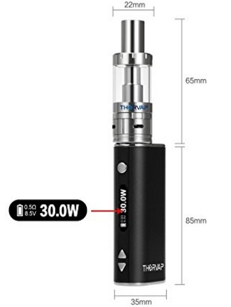 Sigaretta Elettronica Con Vaporizzatore Senza Nicotina