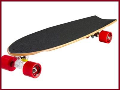 Skateboard cruiser legno