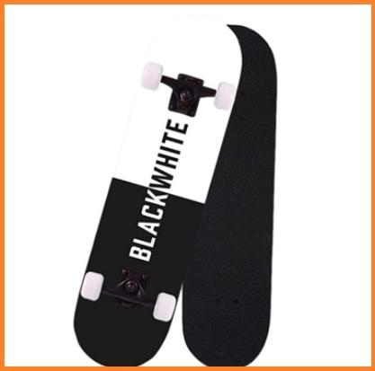 Skateboard professionale nero
