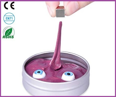 Slime magnetico colorato