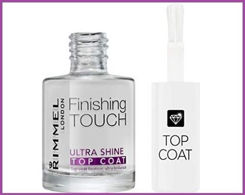 Smalti unghie finish touch trasparente
