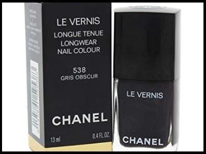 Chanel smalto nero