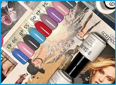 Smalti per unghie set colorati