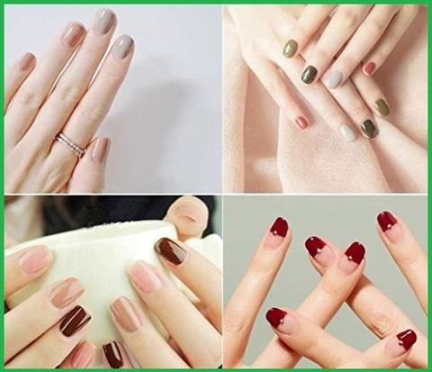 Smalto per unghie set gel