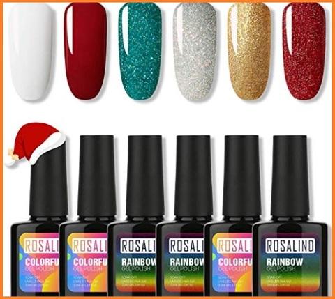 Smalti unghie natalizi colorati