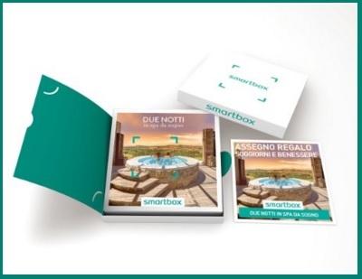 Smartbox relax e trattamenti per coppia in spa
