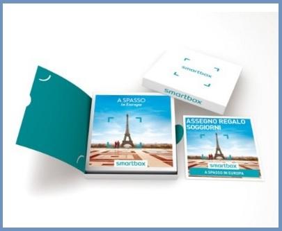 Smartbox pacchetto europa