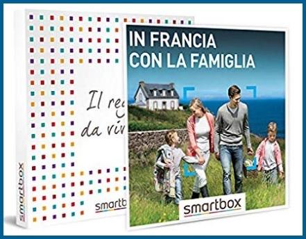 Smartbox francia cofanetto regalo