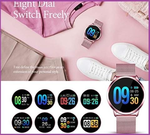 Smartwatch donna rosa
