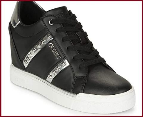 Scarpe Sneakers Donna Guess Con Zeppa