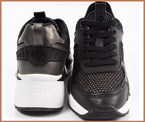 Scarpe Sneakers Donna Guess Nero