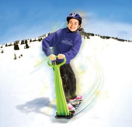 Snowboard scooter per sciare sulla neve