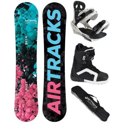 Tavola da snowboard con scarponi inclusi