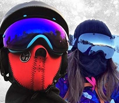 Maschere Snowboard Colorate