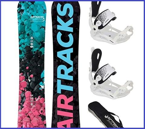 Tavole snowboard donna con attacchi