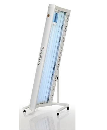 Lettino solarium con rotelle orientabile