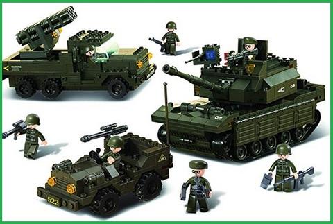 Soldatini Lego Americani