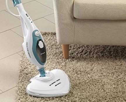 Spazzola pulizia senza fili a vapore