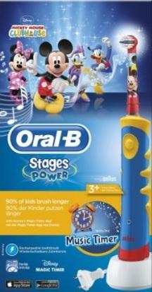 Spazzolino elettrico oral b della disney per bambini