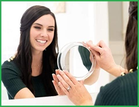 Specchio Cosmetico Portatile