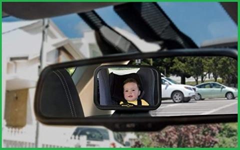 Specchietto retrovisore posteriore regolabile