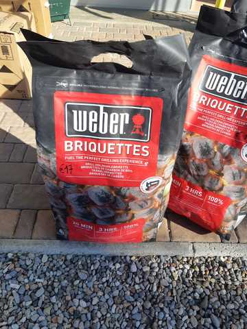 Weber Bricchetti Sacco Da 8kg