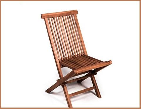 Sedie da giardino in legno miglior prezzo