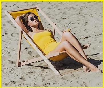 Sedia Da Spiaggia Di Legno