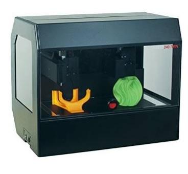 Stampante 3d uso professionale doppia stampante