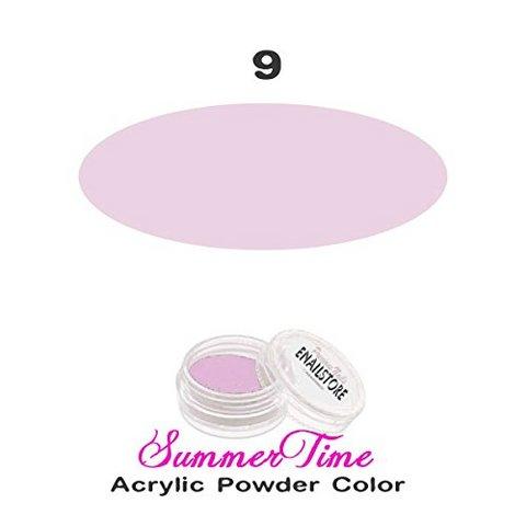 Polvere acrilica rosa chiaro gr. 3