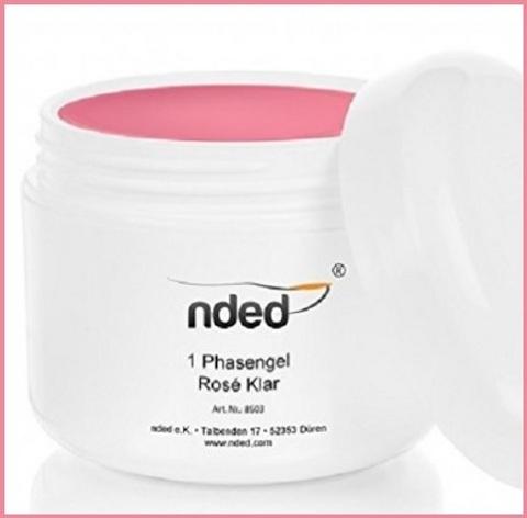Gel monofasico rosa opaco ml 50
