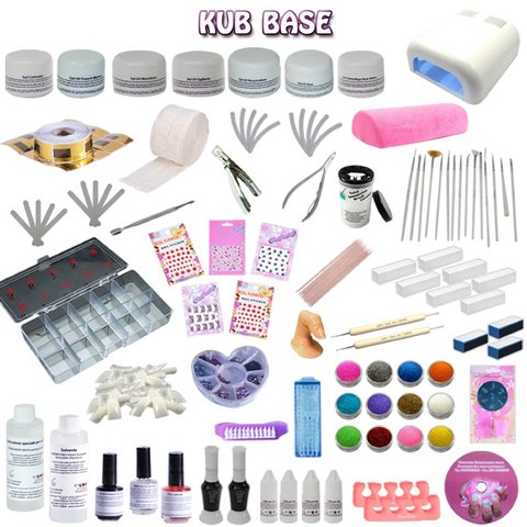 Kit completo gel professionale