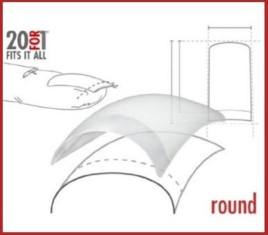 Ricambi tips trasparente da n. 100 pezzi